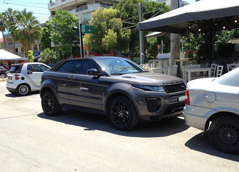 Range Rover Evoque Convertible! have you seen it again? paCARazzi