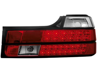 LED ΠΙΣΩ ΦΑΝΑΡΙΑ BMW E32 7 SERIES 88 94 RED CRYSTAL  Carner