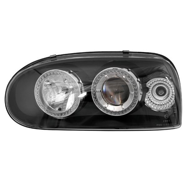 "Lampa VW GOLF 3""92->BLACK  Autostaff automotive"