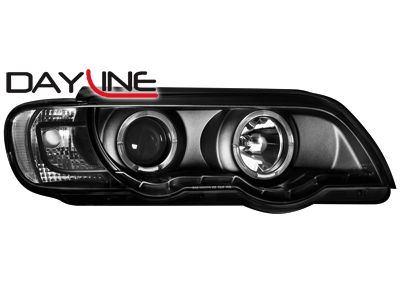 ΦΑΝΑΡΙΑ BMW X5 E53 09.99-10.03 ANGEL EYES BLACK  Carner