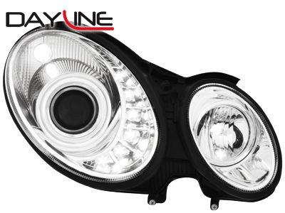 DAYLINE ΦΑΝΑΡΙΑ MERCEDES E W211 02 06 HID CHROME  Carner