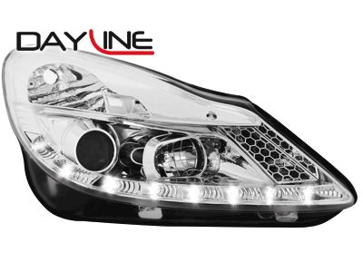 DAYLINE ΦΑΝΑΡΙΑ OPEL CORSA D 06+ DRL OPTIC CHROME  Carner