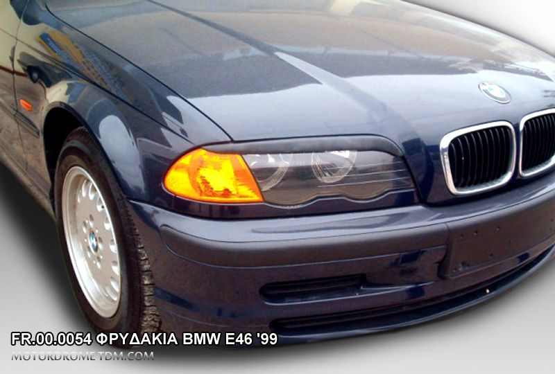 BMW 3 E46 COUPE 99-02 ΦΡΥΔΑΚΙΑ ΦΑΝΑΡΙΩΝ ΑΠΟ ΠΛΑΣΤΙΚΟ ABS