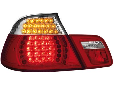 LED ΠΙΣΩ ΦΑΝΑΡΙΑ BMW E46 CABRIO 00 05 RED CRYSTAL  Carner
