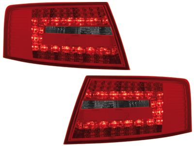 LED ΠΙΣΩ ΦΑΝΑΡΙΑ AUDI A6 LIM 04 08RED SMOKE  Carner