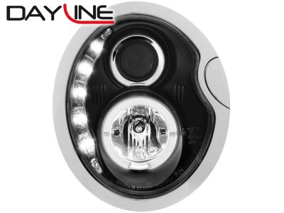 DAYLINE ΦΑΝΑΡΙΑ MINI 01 04 DRL OPTIC BLACK  Carner