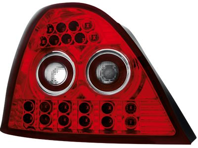 LED ΠΙΣΩ ΦΑΝΑΡΙΑ ROVER 200 95 00 RED CRYSTAL  Carner