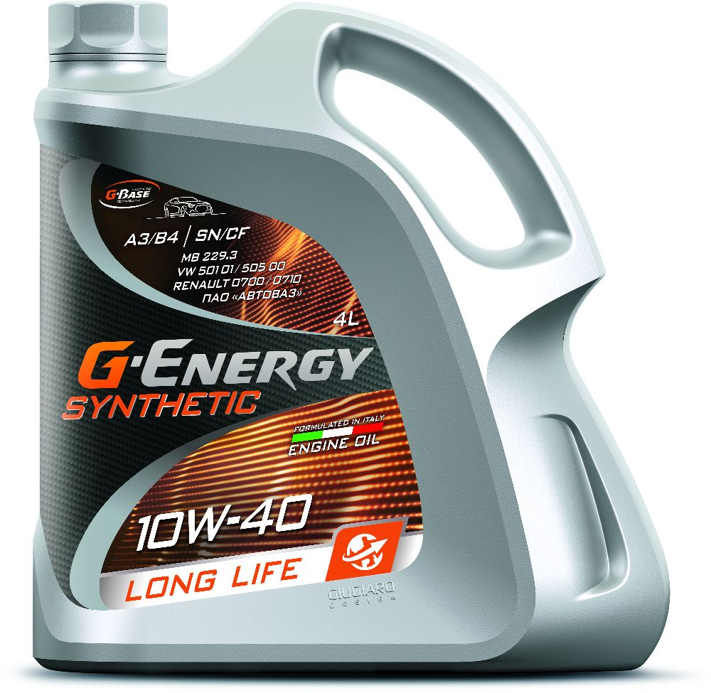 G-Energy Synthetic Long Life 10W-40  Pitstop Service Peiraias