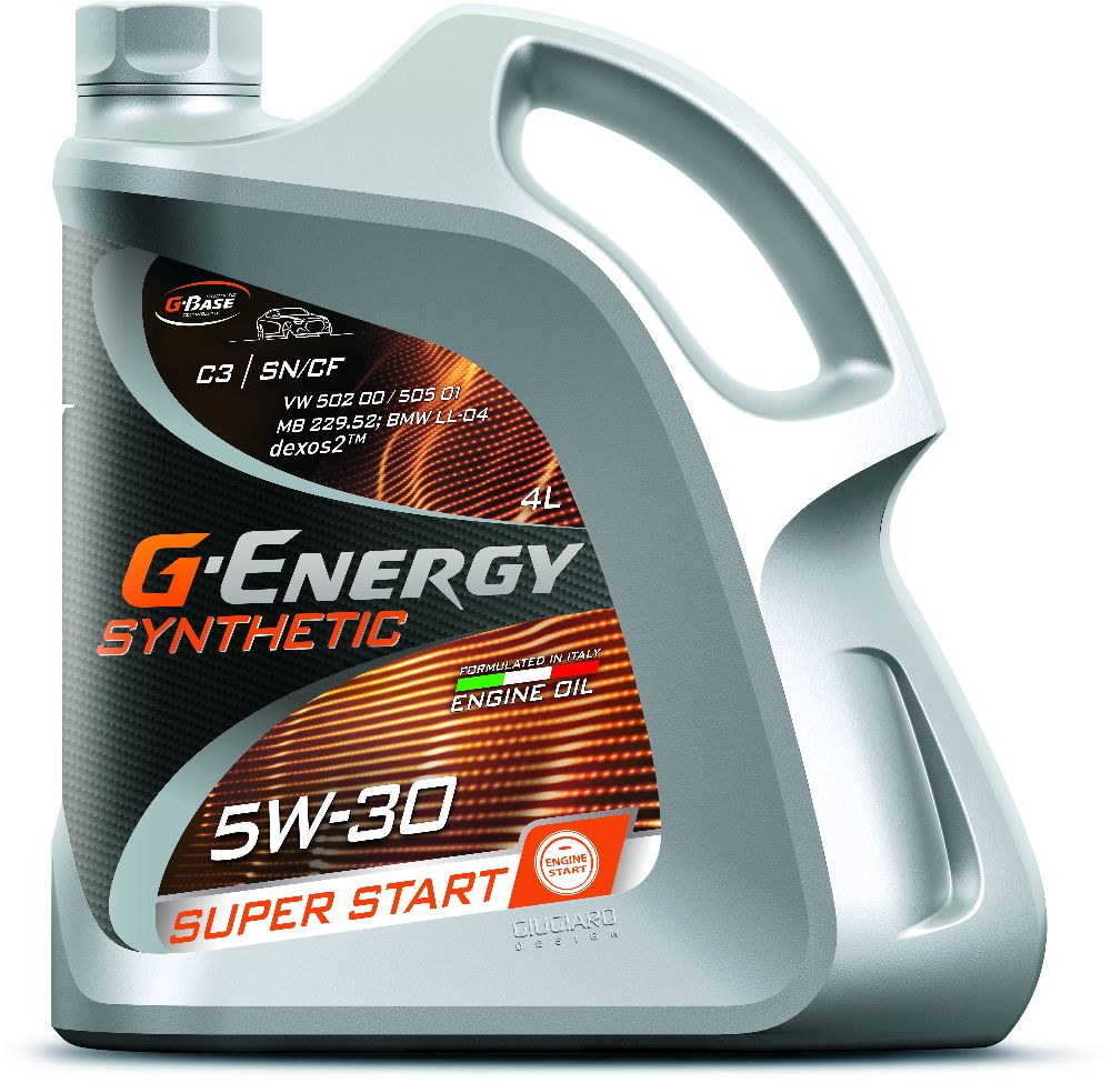 G-Energy Synthetic Super Start 5W-30  Pitstop Service Peiraias